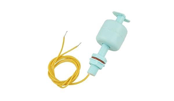 Sensor de nivel de agua del tanque de pescados eDealMax líquido Interruptor de flotador, Azul - - Amazon.com