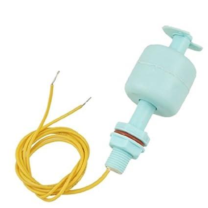 Sensor de nivel de agua del tanque de pescados eDealMax líquido Interruptor de flotador, Azul
