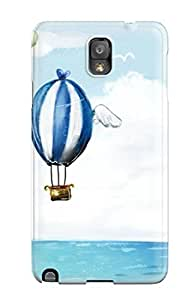 Fashion Protective Balloons Air Cartoon Case Cover For Galaxy Note 3