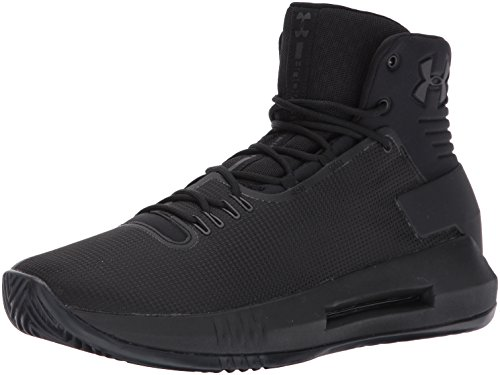 Under Armour Men's Drive 4, Black/Black/Metallic Gun Metal, 11 D(M) US (Under Armour Basketball Shoes 11)