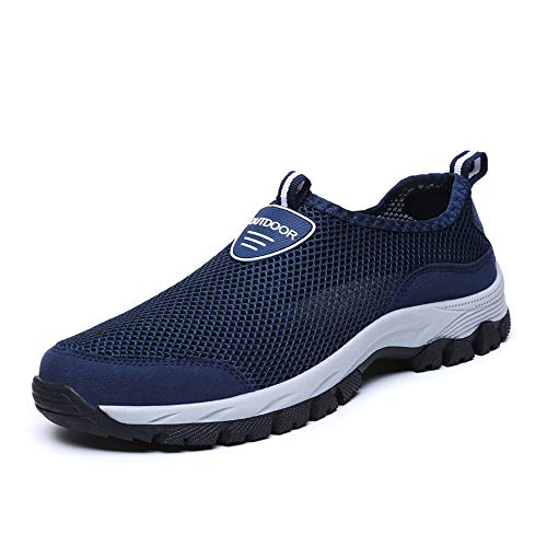 coloing Men's Hiking Shoe Waterproof Hiking Shoe Ridge Plus Waterproof(Dark Blue 46/11.5 D(M) US Men) ()