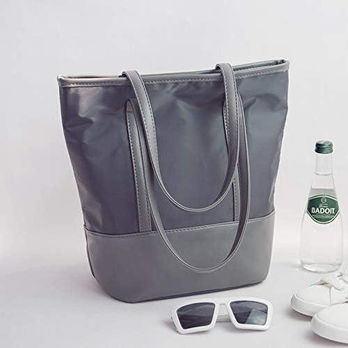 バッグ 新しいナイロンキャンバス女性のバッグの韓国語版防水オックスフォードクロスシンプルシングルショルダーバッグカジュアルは、ベールの流れをハンドバッグ。