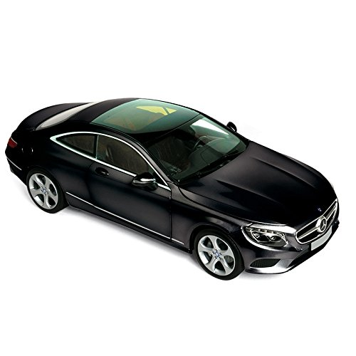 Norev NV183482 1:18 Scale 2014 Mercedes-Benz S-Klasse Coupe Black Model Car
