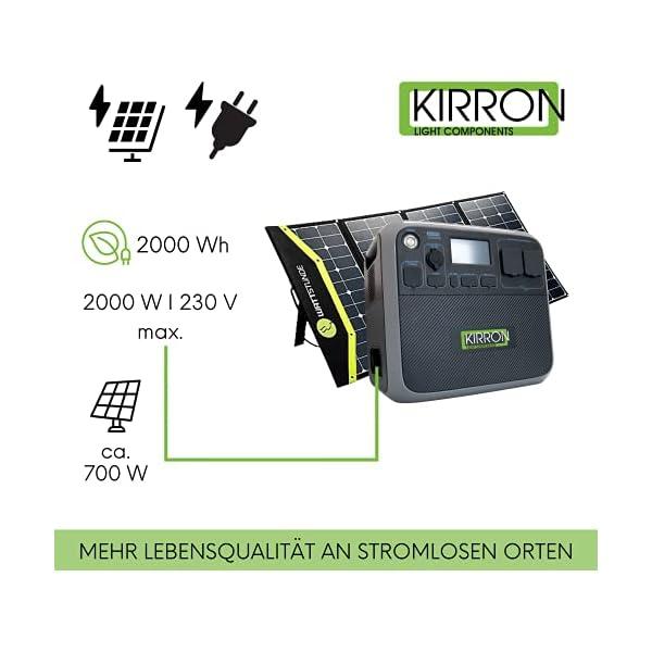410LG30UEPS Kirron AC200P Powerstation 2000 Wh/2000 W + Solartasche Sunfolder 220W I neue Software 1.1/Bluetti Poweroak I 230 V…