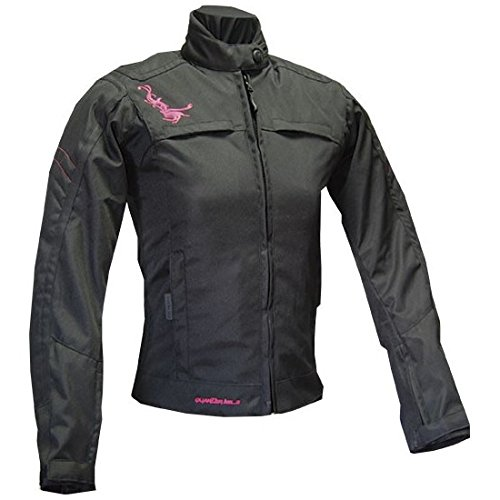 Cazadora Quarter Mile Tecnic lady negra / rosa (XS): Amazon ...