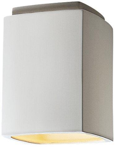 Justice Design Group Lighting CER-6110-BIS Flush-Mount with Ceramic Bisque Shades, ()