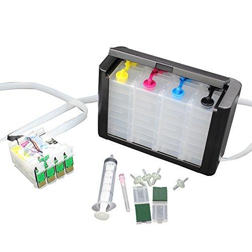 UniPrint Empty Luxury Ink System CISS CIS for Workforce WF-3620 WF-3640 WF-7610 WF-7620 7110 3620 3640 7610 7620 WF-7710 WF-7720 WF-7210 T2521 T252XL 252 Ink Cartridge ()