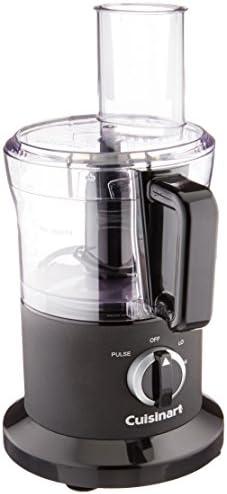 Cuisinart DLC-6BWFR 8 Cup Food Processor (Renewed), Black