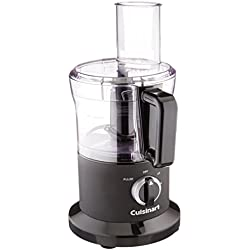 Cuisinart DLC-6BWFR 8 Cup Food Processor (Certified Refurbished), Black