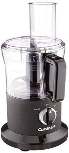 Cuisinart DLC-6BWFR 8 Cup Food Processor (Renewed), Black
