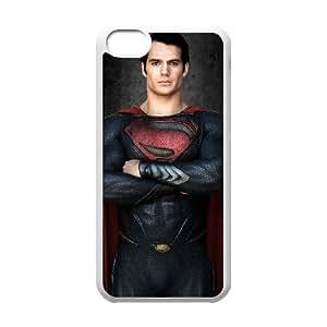Superman iPhone 5c Cell Phone Case White D6N1LQ