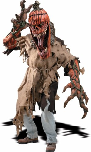 [Rubie's Costume Creature Reachers Costume And Latex Mask, Bad Seed, Grey, Standard] (Scary Costumes)