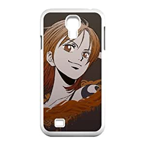 one piece nami Samsung Galaxy S4 9500 Cell Phone Case White Custom Made pp7gy_7200048