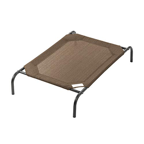 Coolaroo The Original Elevated Pet Bed, Medium, Nutmeg