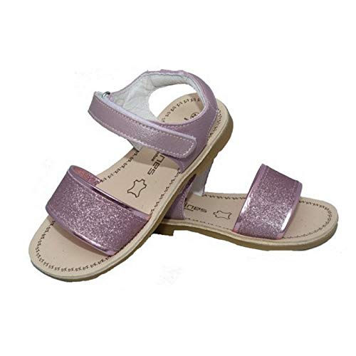 a0455514 Andanines Sandalias para niña en piel de Color Plata de Plata, 20:  Amazon.co.uk: Shoes & Bags