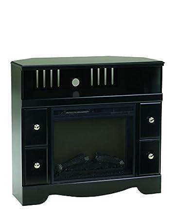Amazon Com Ashley Furniture Signature Design Shay Corner Tv Stand