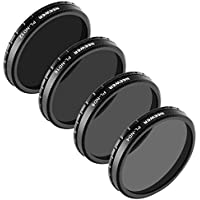 Neewer for DJI Inspire 1 Professional Photography Multi-Coated PL-ND Filter Set includes: PL-ND4, PL-ND8, PL-ND16, PL-ND32, Made of High Definition Glass