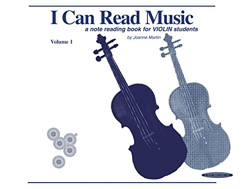 I Can Read Music, Volume 1: A note reading book for VIOLIN - Note Reading Violin
