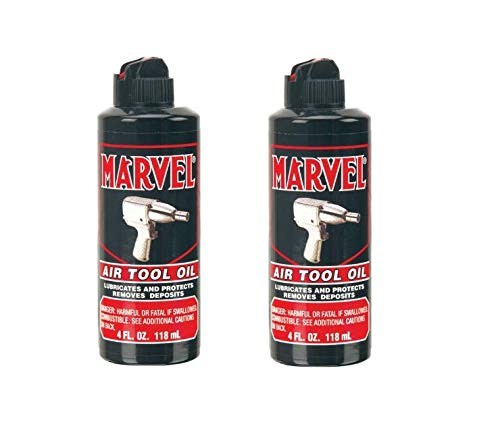 Marvel Air Tool Oil MM080R - 4 oz - 2-Pack