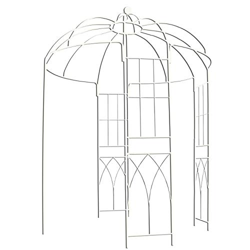 OUTOUR French Style Birdcage Shape Heavy Duty Gazebo, 9' Highx 6'6