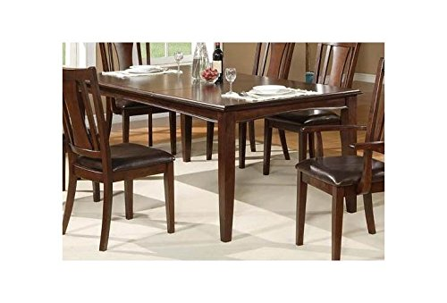 Alpine Rectangular Table (Alpine Furniture Bradbury Extension Dining Table)