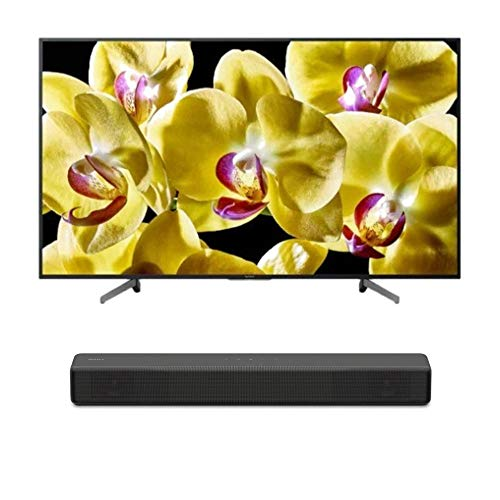 "Sony XBR-49X800G BRAVIA XBR49X800G Series - 49"" Class (2019 Model) with SONY HT-S200F 2.1 Channel Soundbar with Integrated Subwoofer Bundle"