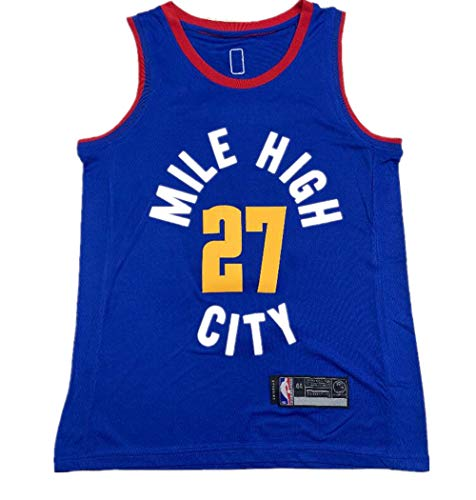 NO.27_Jamal_Murray_Denver_Nuggets_Blue Swingman Jersey - Statement Edition-Men's - Denver Jersey Nuggets Blue
