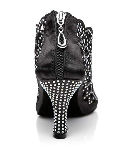 5cm 7 Heel l363 Da Minitoo Donna Minitoouk Black Sala Y0FYqP7w