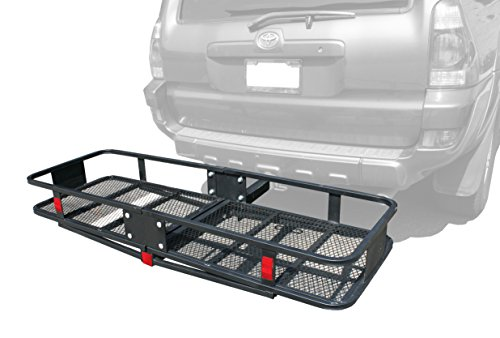 MaxxHaul 70103 Hitch Mount Steel Folding Cargo Carrier-60 x 21""