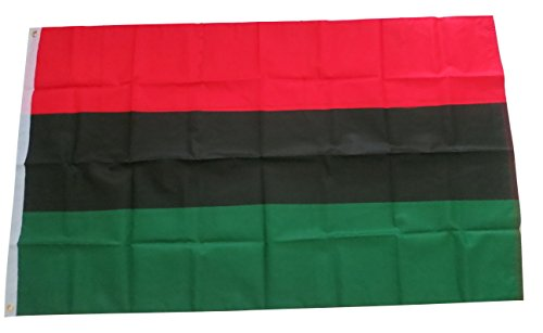 Afro American Africa Black Pride Banner Flag 3x5 Feet Printed Flag with Grommets - Black History Flags