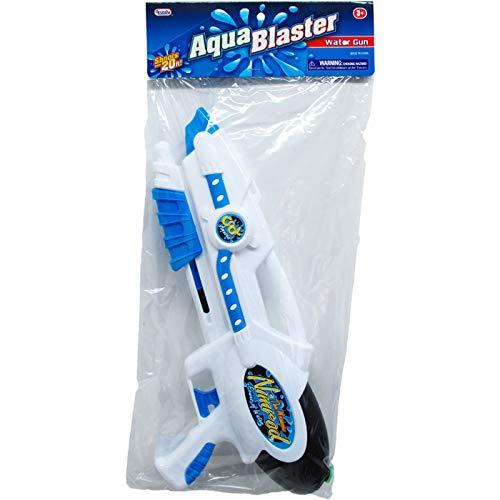 DollarItemDirect 15'' Water Gun W/ Pump ACTN in PVC Bag W/ Header, Case of 24