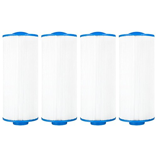 Clear Choice Pool Spa Filter 5.19 Dia x 12.50 in Cartridge Replacement for Pacific Marquis Spa 35 Aladdin 13507 Baleen AK-90103, [4-Pack]