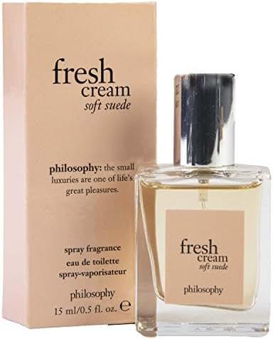 Philosophy Fresh Cream Soft Suede Spray Fragrance .5 fl oz