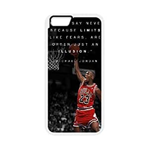diy zhengCool Painting Michael Jordan Brand New 3D Cover Case for iPhone 6 Plus Case 5.5 Inch /,,diy case cover case-689120