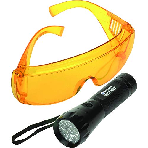 Mastercool 53517-UV 17 LED True UV Detection Flashlight