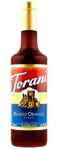 Torani Blood Orange Syrup, 25.4 Ounce Blood Orange Flavor