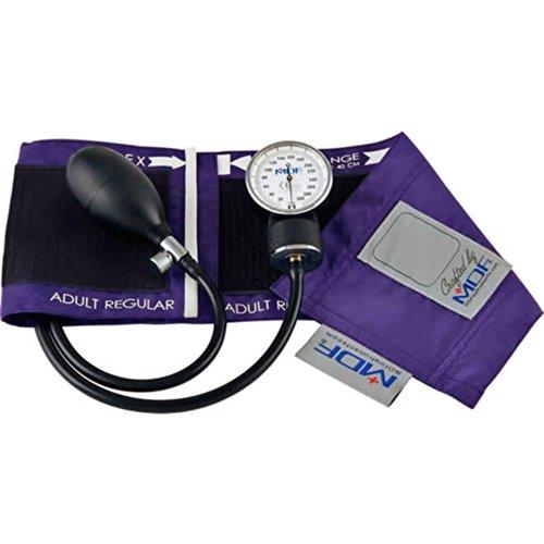 MDF Instruments - 808B-08 - Professional Aneroid Sphygmomanometer, Adult-Purple