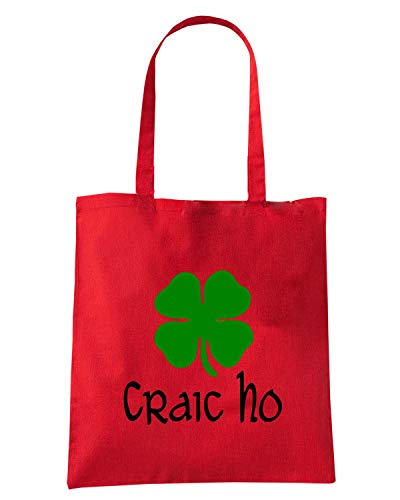 Speed Shirt Borsa Shopper Rossa TIR0027 CRAIC HO