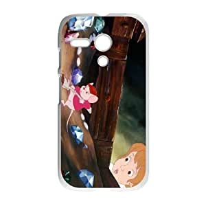 Durable Rubber Cases Motorola Moto G Cell Phone Case White Nidla The Rescuers Protection Cover