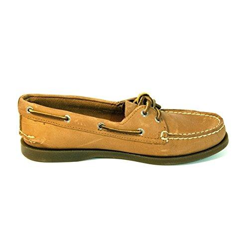 Sperry Top-Sider Women's Two Eye Boat Shoe 10 Brown