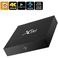 Generic X96 Android 6. 0 TV Box - Quad-Core CPU, 4K Movie Support, Airplay, Miracast, Google Play, Kodi TV, 16GB Memory