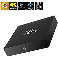 Generic X96 Android 6. 0 TV Box - Quad-Core CPU, 4K Movie Support, Airplay, Miracast, Google Play, Kodi TV, 16GB Memory