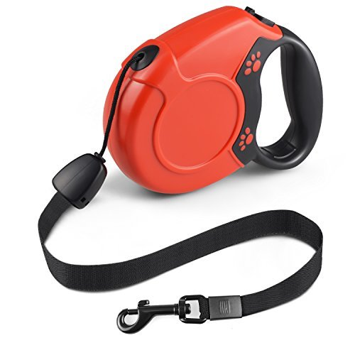 Red 26' Retractable Leash - 7