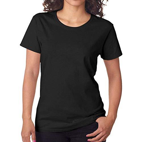 Women's Short Sleeve T World's Okayest Dad T-Shirt Black XXL