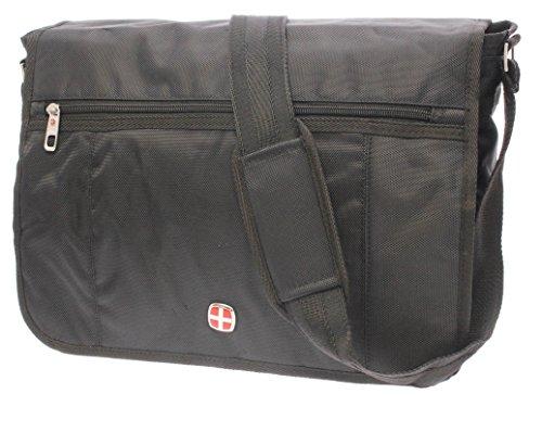 XXL Notebooktasche Laptoptasche Akten Laptop Notebook Tasche FLUGBEGLEITER MESSENGER UMHÄNGETASCHE ARBEITSTASCHE