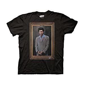 Ripple Junction Seinfeld Kramer Adult T-Shirt | NEW COMEDY TRAILERS | ComedyTrailers.com