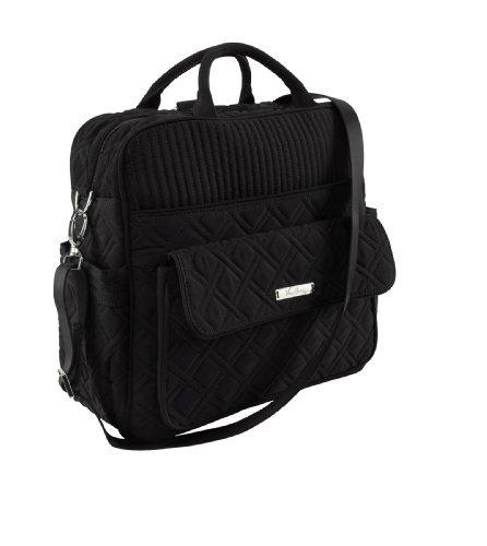 Vera Bradley Convertible Baby Bag in Black