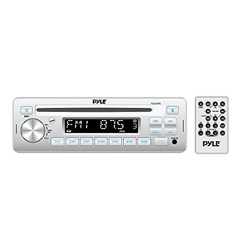 Pyle Stereo Radio Headunit Receiver, CD Player, USB/MP3 Reader, Aux (3.5mm) Input, AM/FM Radio, Single DIN (1996 Ford Explorer Radio Harness)