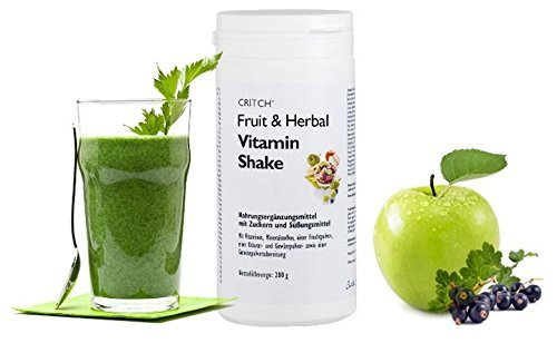 Multivitamin - Fruit & Herbal Vitamin Shake from 36 different types of fruit, herbal, plant, spice and vegetable powder preparation as multivitamin source ...