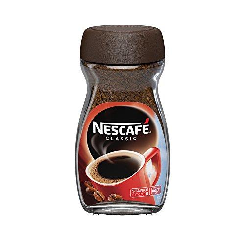 Nescafé Classic, Löslicher Kaffee, 200g Glas (1er Pack)